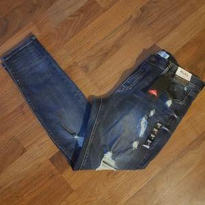 Mudd Distressed Skinny Jeans